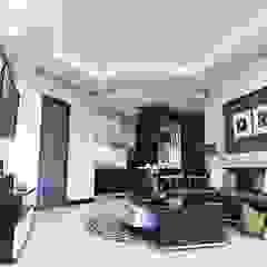 Apartemen Gading Mediterania Jakarta Ruang Keluarga Minimalis Oleh Maxx Details Minimalis