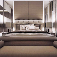Apartemen Unit La Grande Bandung Kamar Tidur Minimalis Oleh Maxx Details Minimalis