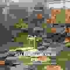 Pembuatan Taman Kolam Relief Air Terjun Taman Minimalis Oleh Berkah indah taman Minimalis Batu Tulis
