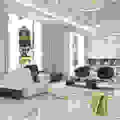 Modern interior design for a luxury house in Dubai Modern Living Room by Fancy House Design Modern Marble