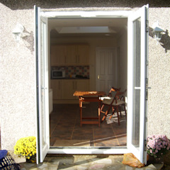 Rear French Doors Arc 3 Architects & Chartered Surveyors Modern houses