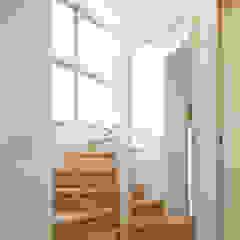 by ミナトデザイン1級建築士事務所 Modern Wood Wood effect