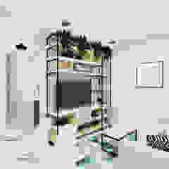 Livings de estilo moderno de Aline Mozzer Arquitetura Moderno Tablero DM