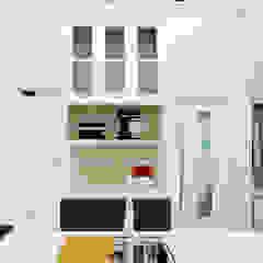 Projeto de Interiores - Reforma completa casa de 60m² por Aline Mozzer Arquitetura Clássico MDF
