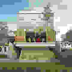 darsono antik house Rumah Gaya Industrial Oleh midun and partners architect Industrial