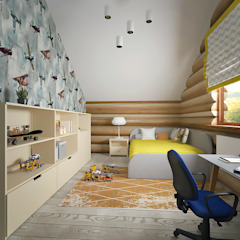 студия Виталии Романовской Nursery/kid's room
