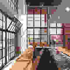 Little C lofts - Rotterdam van jvantspijker & partners Modern Graniet