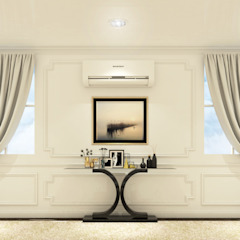 Interior Design (Wall Design) Kantor & Toko Modern Oleh PT. Leeyaqat Karya Pratama Modern