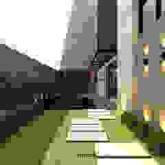 DK Residence Balkon, Beranda & Teras Modern Oleh M I D S T Interiors Modern Batu
