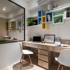 Scandinavian style study/office by 富亞室內裝修設計工程有限公司 Scandinavian MDF