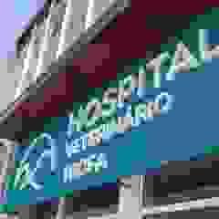 Hospital Veterinário Trofa Hospitais minimalistas por MIA arquitetos Minimalista Metal