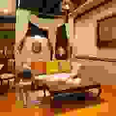 Interior Hotel Manohara Hotel Gaya Mediteran Oleh CV. ARCHIRA Mediteran Kayu Wood effect
