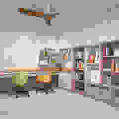 Bedok North Ave 1 Modern study/office by Swish Design Works Modern