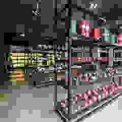 Centros Comerciais asiáticos por 元作空間設計 Asiático