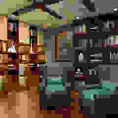 Azjatyckie domowe biuro i gabinet od MAD Design Azjatycki