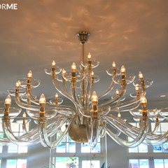 Multiforme Lighting at Denver Country Club من MULTIFORME® lighting إنتقائي زجاج