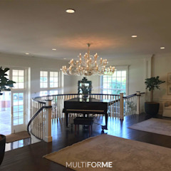 Multiforme Lighting at Denver Country Club by MULTIFORME® lighting Eclectic Glass