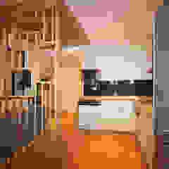 Agence ADI-HOME Modern kitchen Wood Wood effect