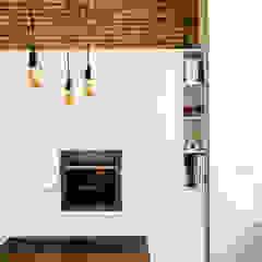 by osb arquitectos Mediterranean چپس بورڈ