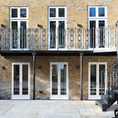 London Garden - Metal Balcony and Staircase by British Spirals & Castings Classic