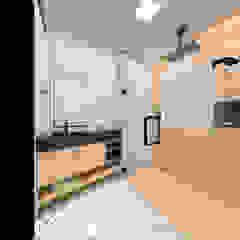 PROJETOS Banheiros rústicos por Taís Fernández - Designer de Interiores Rústico