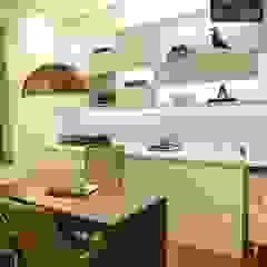 Aline Dinis Arquitetura de Interiores Modern commercial spaces MDF White