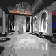 Oriental villa Ruang Keluarga Gaya Mediteran Oleh dal design office Mediteran