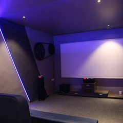 Modern Media Room by Future Space Interior Modern