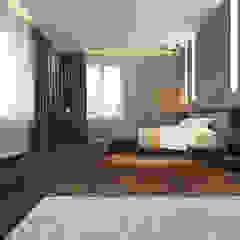 Industrial style bedroom by pashchak design Industrial