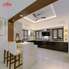 Asian style kitchen by Creo Homes Pvt Ltd Asian