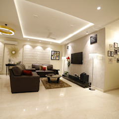 Asian style living room by Rashi Agarwal Designs Asian Marble