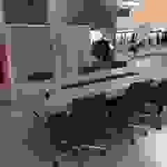 Scandinavische kantoorgebouwen van BJORNSON&CHELET CONCRETE FURNITURE Scandinavisch