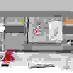 Pokój dla dzieciaków-podróżników Eklektyczny pokój dziecięcy od Grzegorz Popiołek Projektowanie Wnętrz Eklektyczny