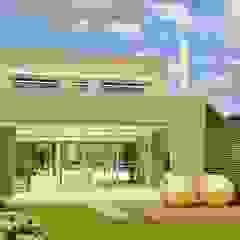 Casa 2 de Mayo de viviendas de autor Minimalista Caliza