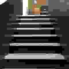 Treppe WoodDo Treppe Holzwerkstoff Schwarz