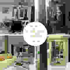Remodelación Sala Comedor Comedores de estilo clásico de Lucero Pardo M. - Diseñadora de Interiores Clásico Madera Acabado en madera