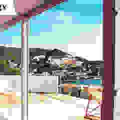 DGV metal srl Windows & doors Windows Komposit Kayu-Plastik White