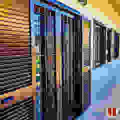 DGV metal srl Windows & doors Blinds & shutters Besi/Baja Brown