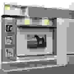 من Milav Design حداثي خشب Wood effect