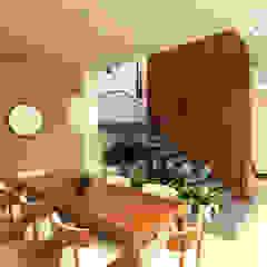 Proyecto unidade de vivienda (Saldaña - Tolima) Comedores de estilo ecléctico de Taller 3M Arquitectura & Construcción Ecléctico Ladrillos