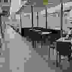 Akratectura Mediterranean style balcony, veranda & terrace