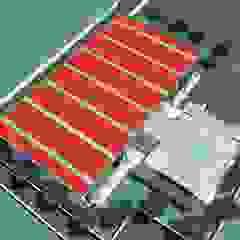 Pavilhão Desportivo Estádios modernos por Luís Fôjo Arquitecto Moderno