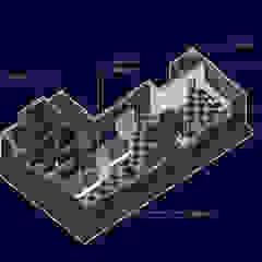 El Gran Molino Colón de SXL ARQUITECTOS Minimalista Aluminio/Cinc