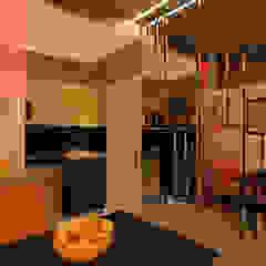 np Clinics Glass Orange