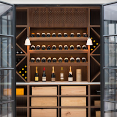 Wine bar by Shape London Modern