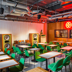 Dining area Modern gastronomy by Shape London Modern
