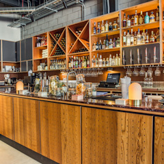 Bar Modern bars & clubs by Shape London Modern
