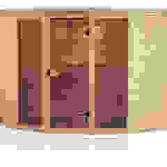 Sauny od Ogrodosfera Nowoczesny Drewno O efekcie drewna