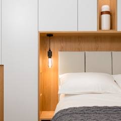 Storage Surrounding Bed Quartos modernos por Shape London Moderno