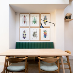 The Signal House Modern dining room by Shape London Modern